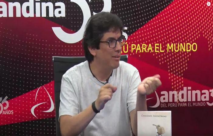 """Piero Montaldo presenta su nuevo libro """"Canciones Encontradas"""""""