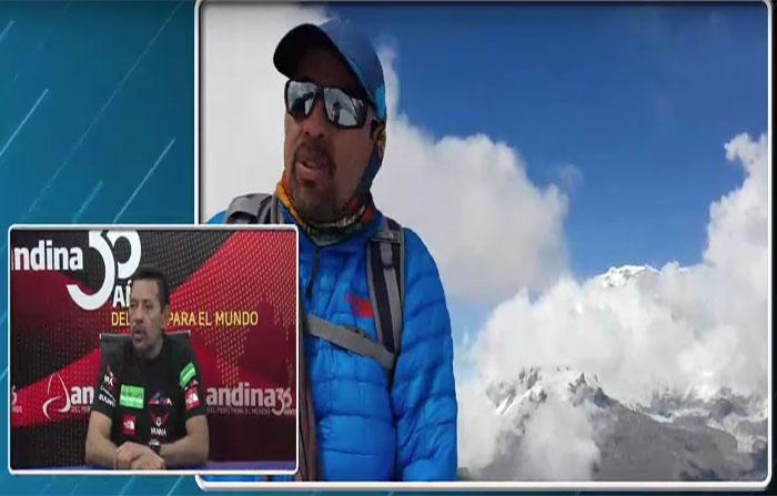 """""""Hacia la cima"""": Richard Hidalgo nos cuenta sus experiencias como montañista en las alturas"""