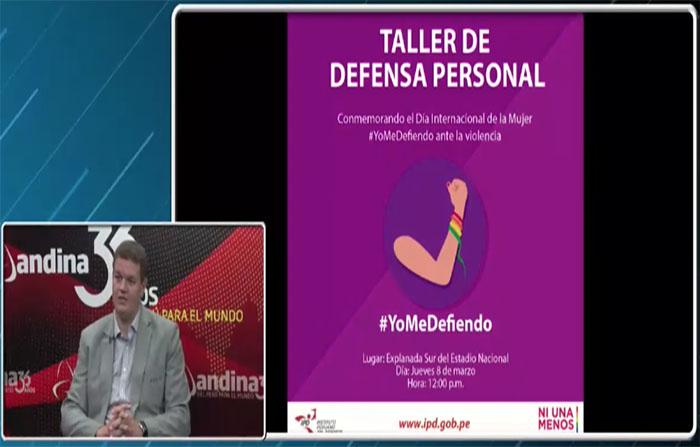 IPD Realiza taller de defensa personal por el Día de la Mujer