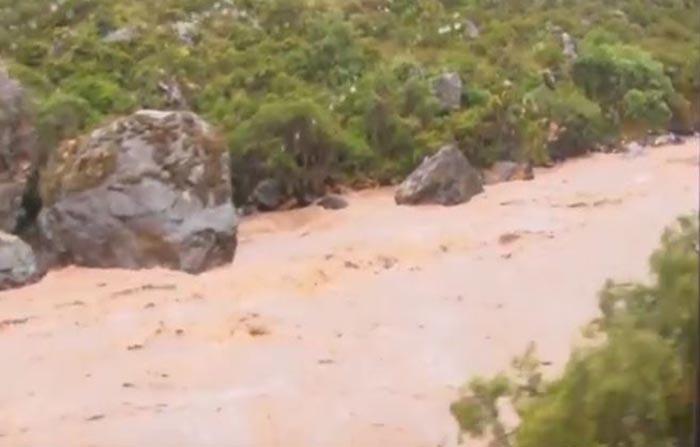 Cusco: río Vilcanota incrementa caudal por intensas lluvias