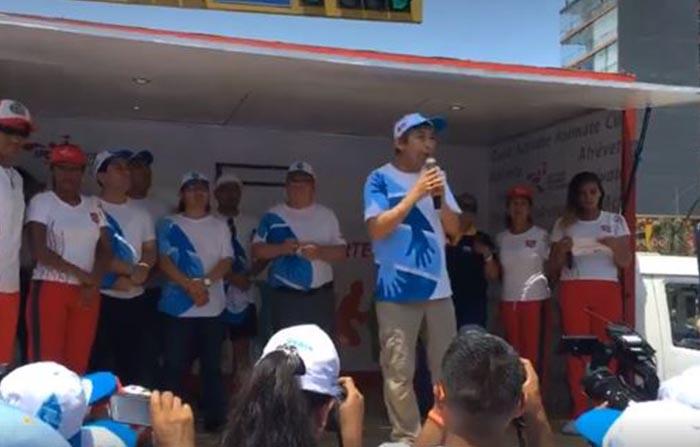 """Desde Miraflores, el final de la """"Caminata por el Agua"""", una de las actividades por la Semana del Agua 2018."""