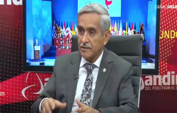 Entrevista al presidente del Poder Judicial, Duberlí Rodríguez