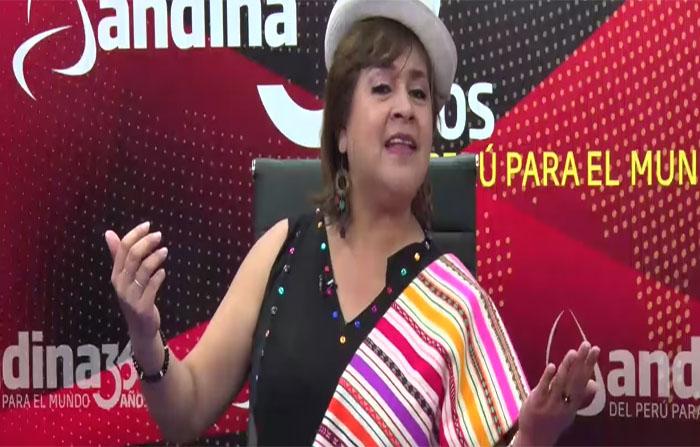 Entrevista a la cantautora andina Carmen Gutiérrez