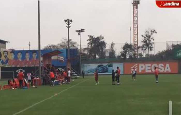 Cuarto día de entrenamiento de la Selección Peruana - FPF en la Videna