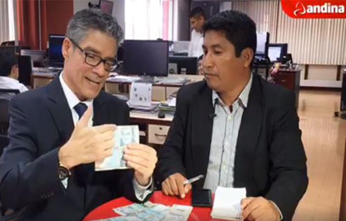 Conoce cómo detectar billetes falsos. Banco Central de Reserva del Perú - BCRP