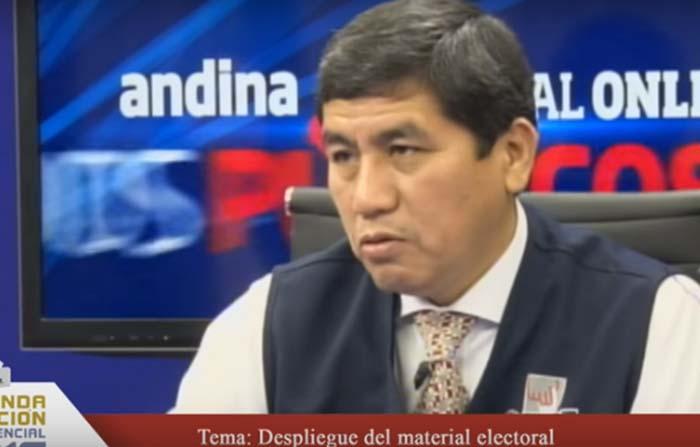 ONPE - Despliegue del material electoral