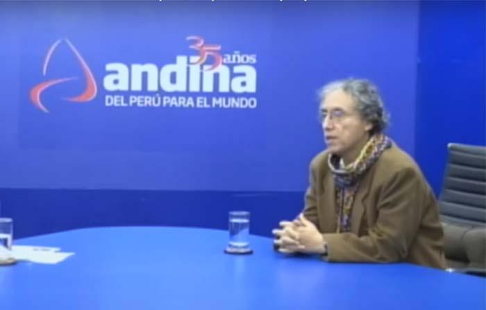 Candidato al rectorado de la UNMSM, Dr. Zenón Depaz, explica sus propuestas en Andina Canal Online.