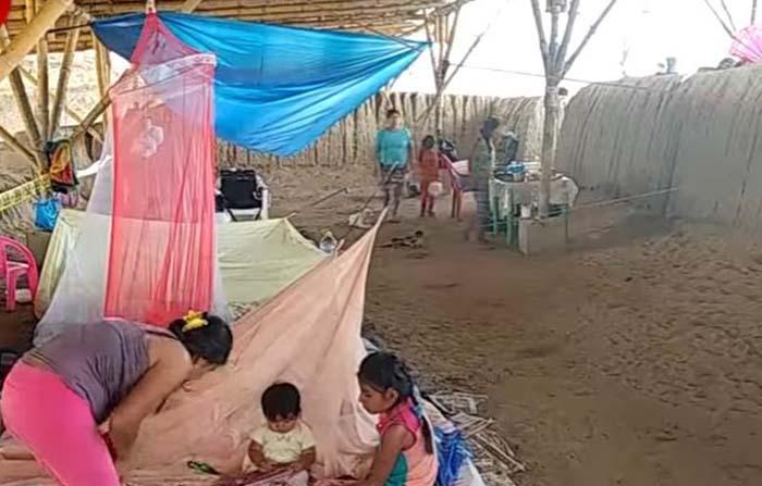 Piura: huaca Narihualá sirve de refugio a los pobladores de la zona