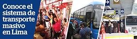 Transporte masivo en Lima