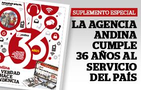 Especial 34 aniversario de Andina