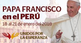 Papa Francisco en el Perú