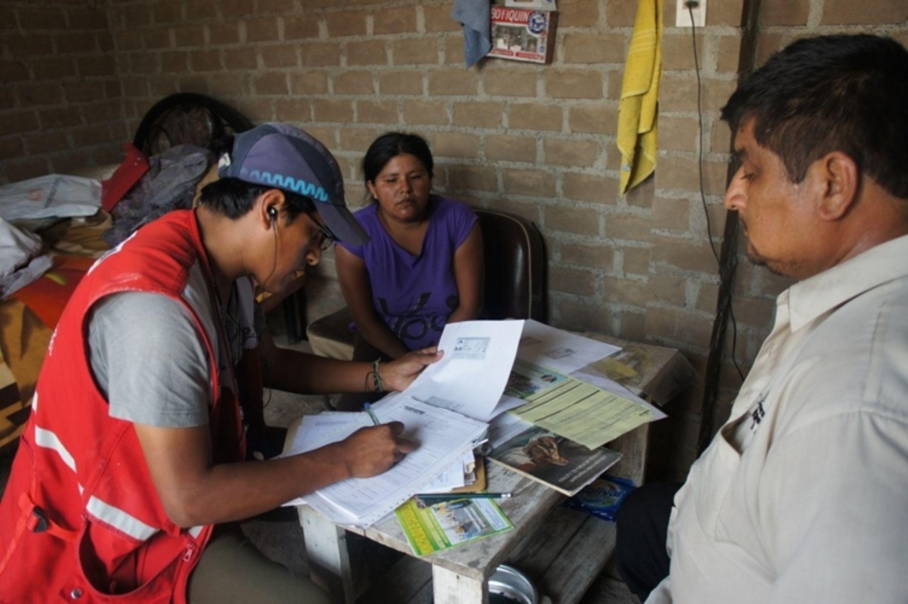 Censos 2017: empadronadores estarán plenamente identificados e irán en grupos