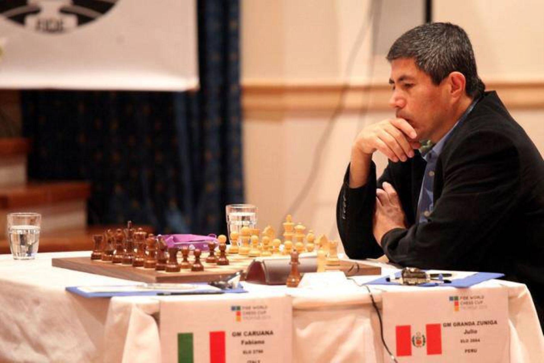 Julio Granda se proclama campeón mundial seniors en Italia — Ajedrez