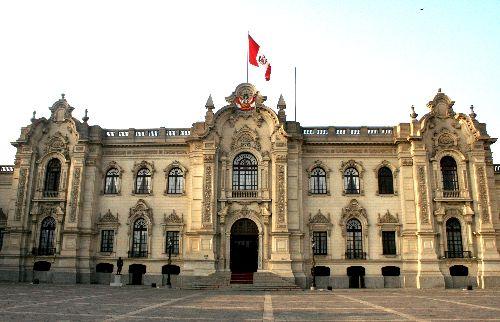Fachada de Palacio de Gobierno.Foto: ANDINA/Archivo