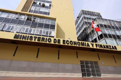 Ministerio de Economía y Finanzas. Foto: ANDINA/Melina Mejia