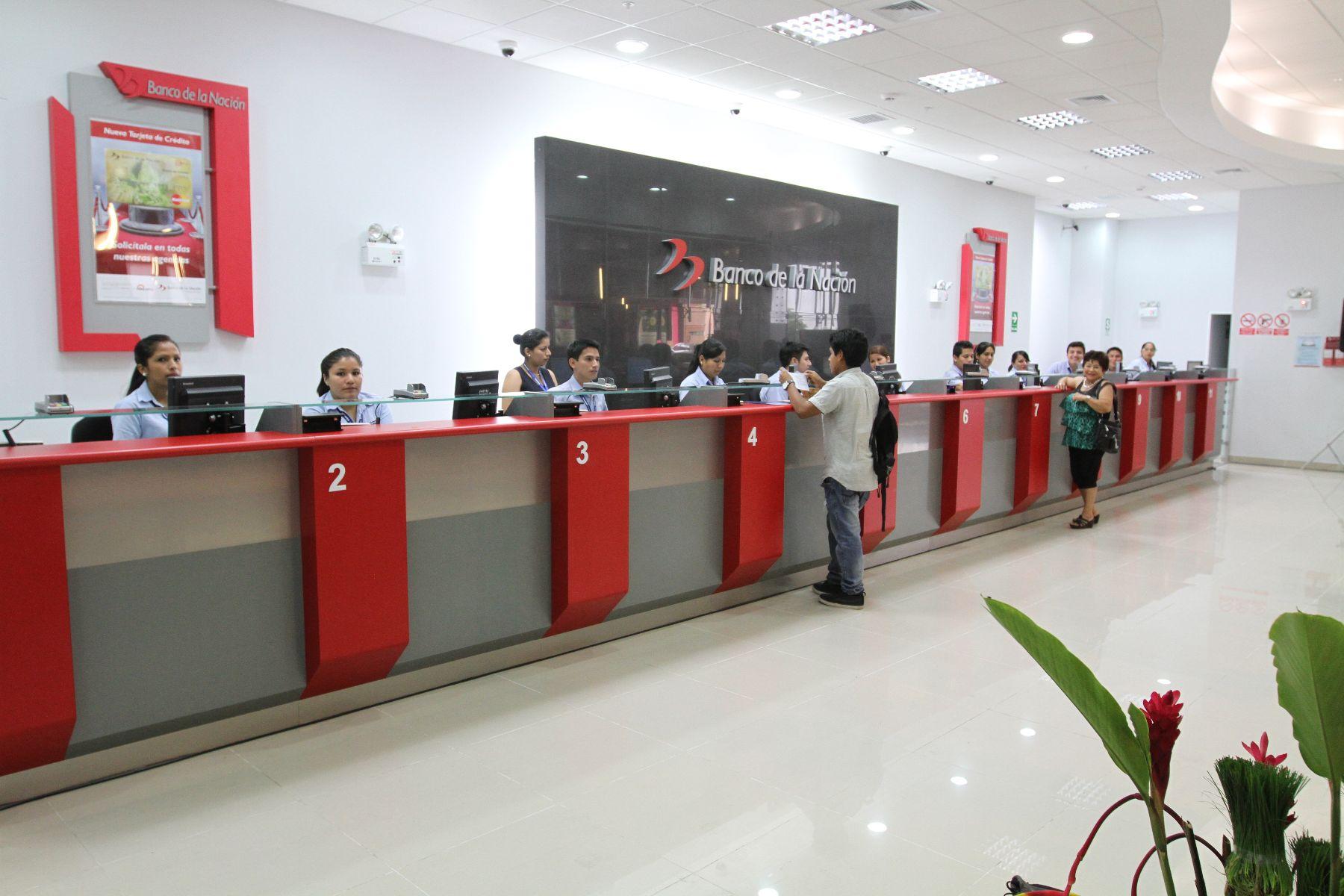 Banco de la naci n abre agencia y oficina especial en for Oficinas de banco financiero