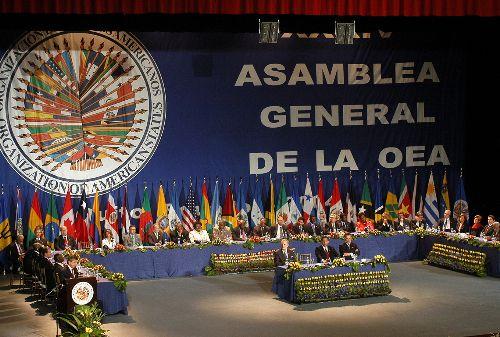 Secretario General de la Organización de los Estados Americanos (OEA), José Miguel Insulza