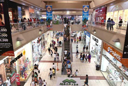 Centro Comercial Mega Plaza.Foto: ANDINA/Carlos Lezama