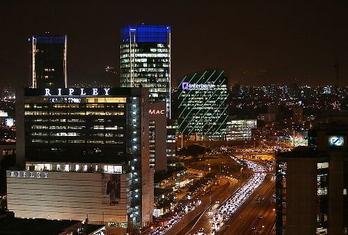 Centro Financiero.Foto: ANDINA/Carlos Lezama