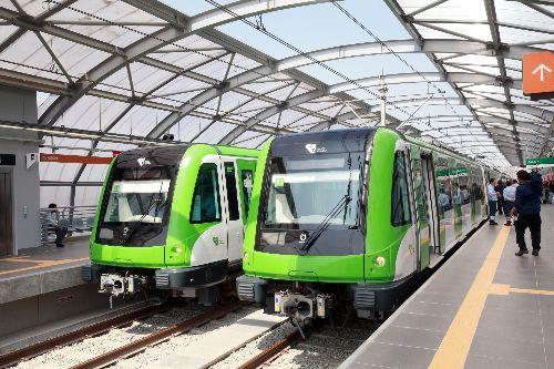 Obras concluidas del Tramo 2 de la Línea 1 del Metro de Lima fueron inauguradas por el Presidente de la República Ollanta Humala.Foto: ANDINA/Prensa Presidencia
