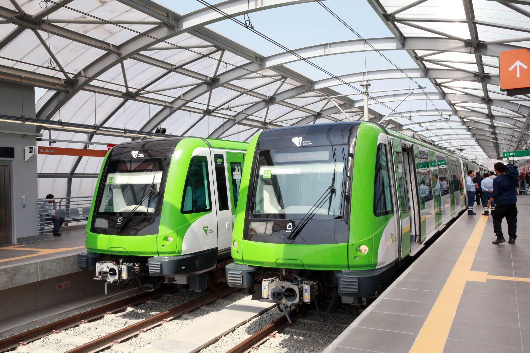 Metro de Lima (Horizonte 2025): Xefirothzz; Unas fotos de la Linea 1