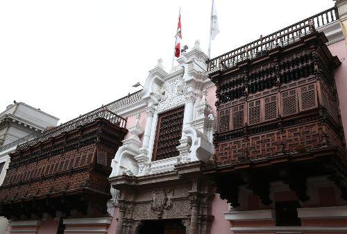 Cancillería Ministerio de Relaciones Exteriores Torre Tagle