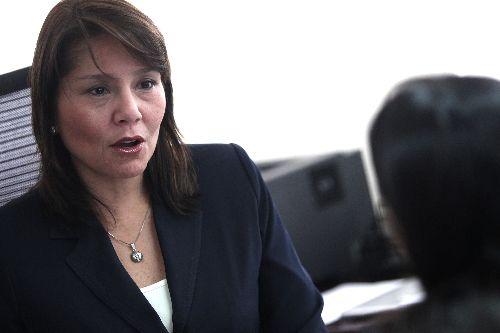 Ministra de Desarrollo e Inclusión Social, Paola Bustamante. Foto: ANDINA/Melina Mejia