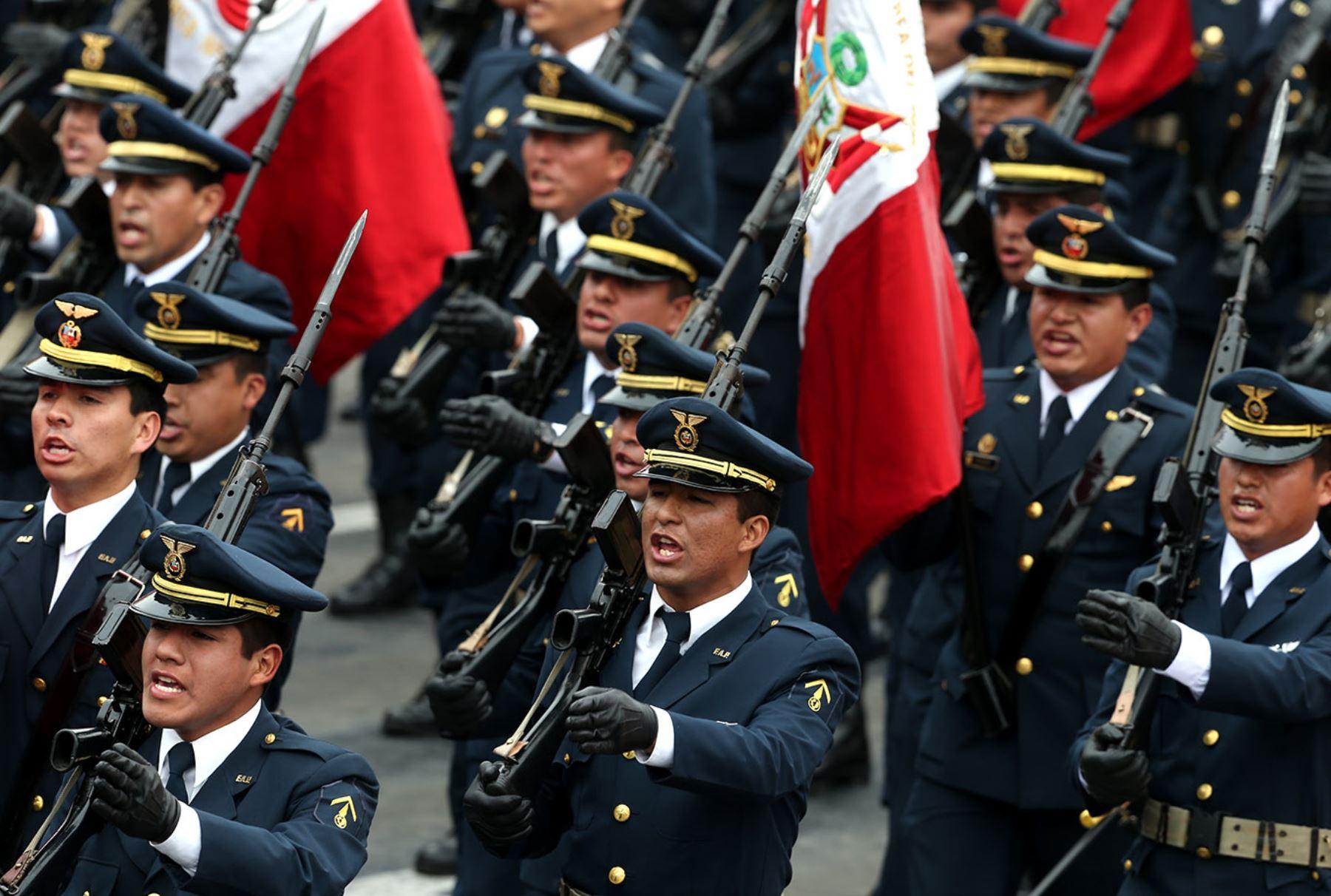 Poder Ejecutivo publica lista de ascensos en las Fuerzas Armadas