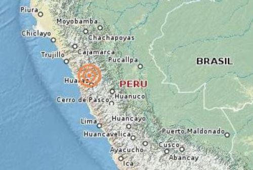 Sismo de 4.6 grados Richter se registró en el departamento de Áncash. Foto: ANDINA/Intefrnet.