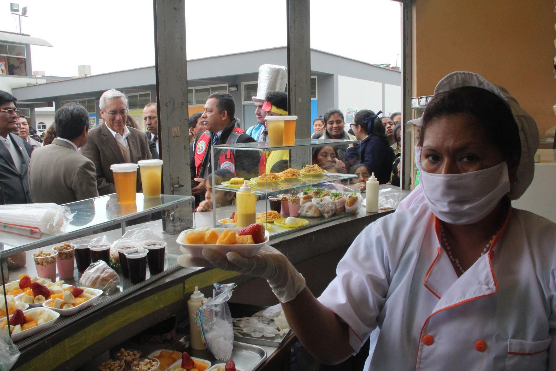 Minsa promueve la implementación de quioscos escolares saludables