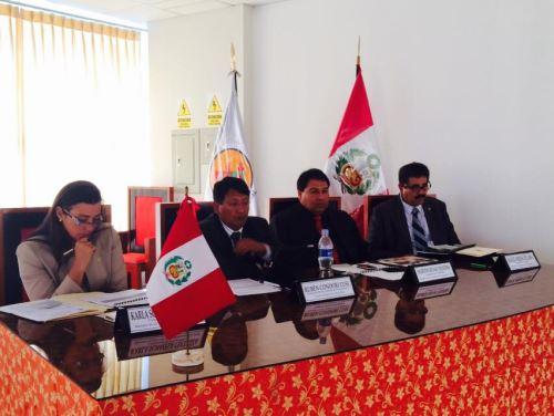 La Comisión de Presupuesto y Cuenta General de la República realizó VIII sesión descentralizada y audiencia pública para el Año Fiscal 2015, en el auditorio del Proyecto Especial Binacional Puyango, en la regiónTumbes. Difusión
