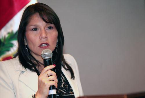 La ministra de Desarrollo e Inclusión Social (Midis), Paola Bustamante. ANDINA/Melina Mejía