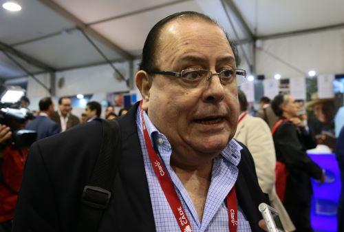 PARACAS, PERÚ-NOVIEMBRE 12.Julio Velarde, presidente del BCR en CADE Ejecutivos 2,014.Foto: ANDINA/Carlos Lezama
