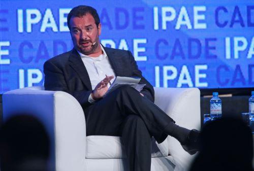 PARACAS, PERÚ-NOVIEMBRE 14.Luis Salazar, presidente de la SNI,en CADE Ejecutivos 2,014.Foto: ANDINA/Carlos Lezama