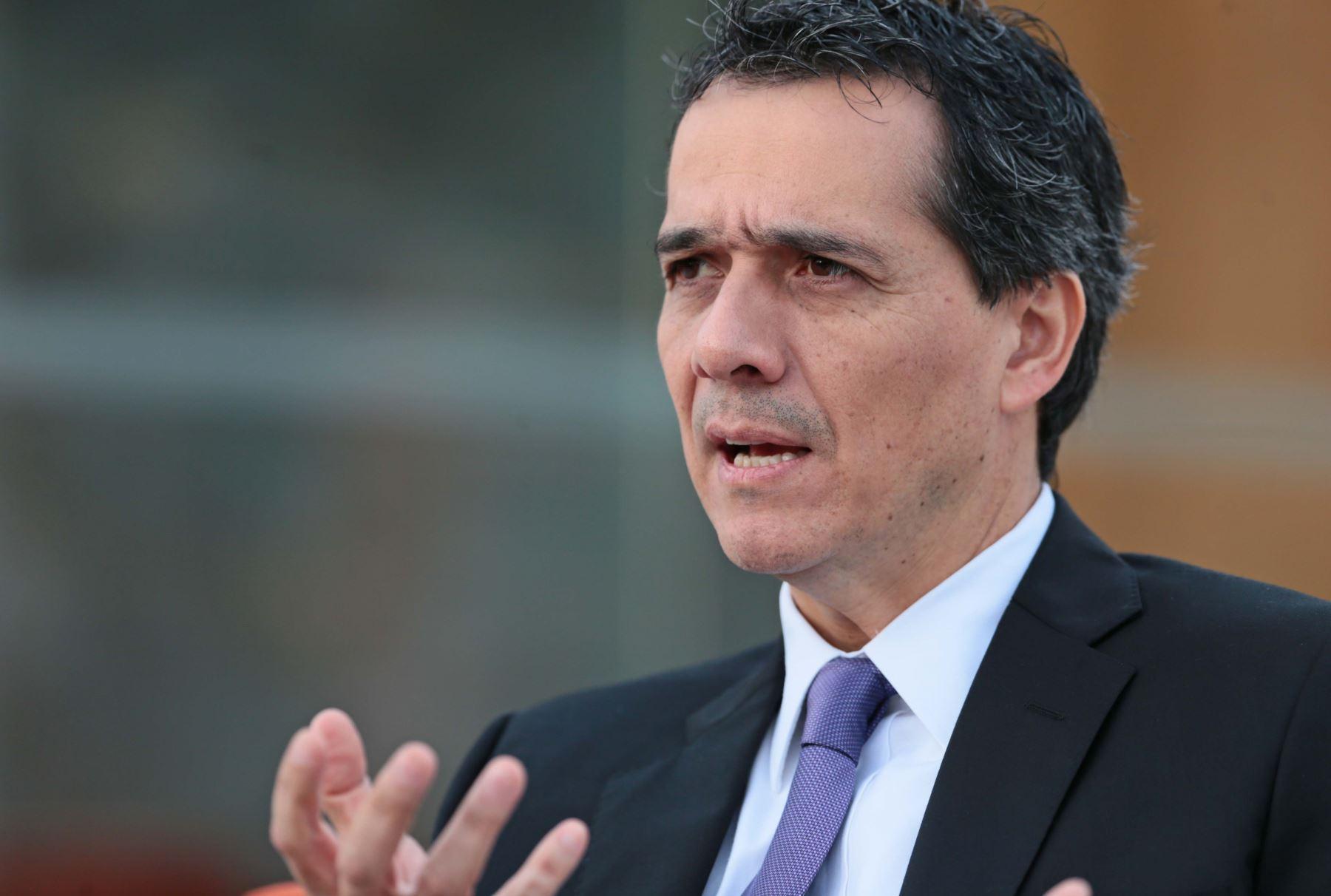 "Alonso Segura: ""nuevo régimen laboral juvenil no es trabajo barato"" - 000269910W"