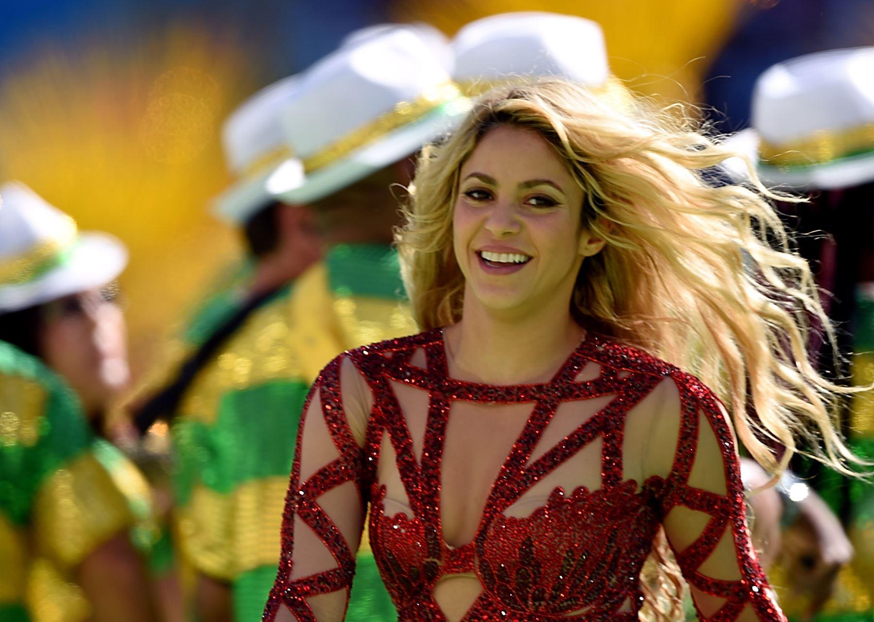 Shakira en la plenitud de su carrera. Cortesía
