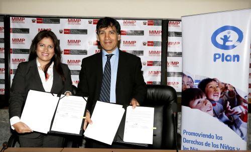 Ministra de la Mujer y Poblaciones Vulnerables. Foto: MIMP.
