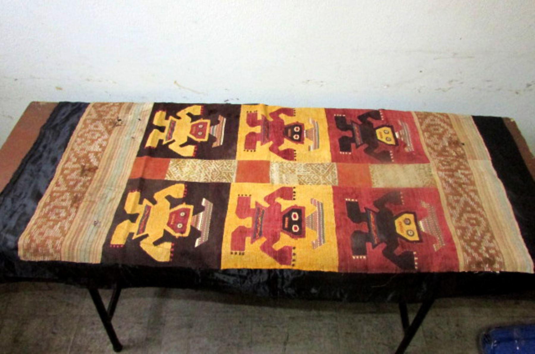 Autoridades recuperan bienes culturales extra dos de forma for Patrimonio mueble