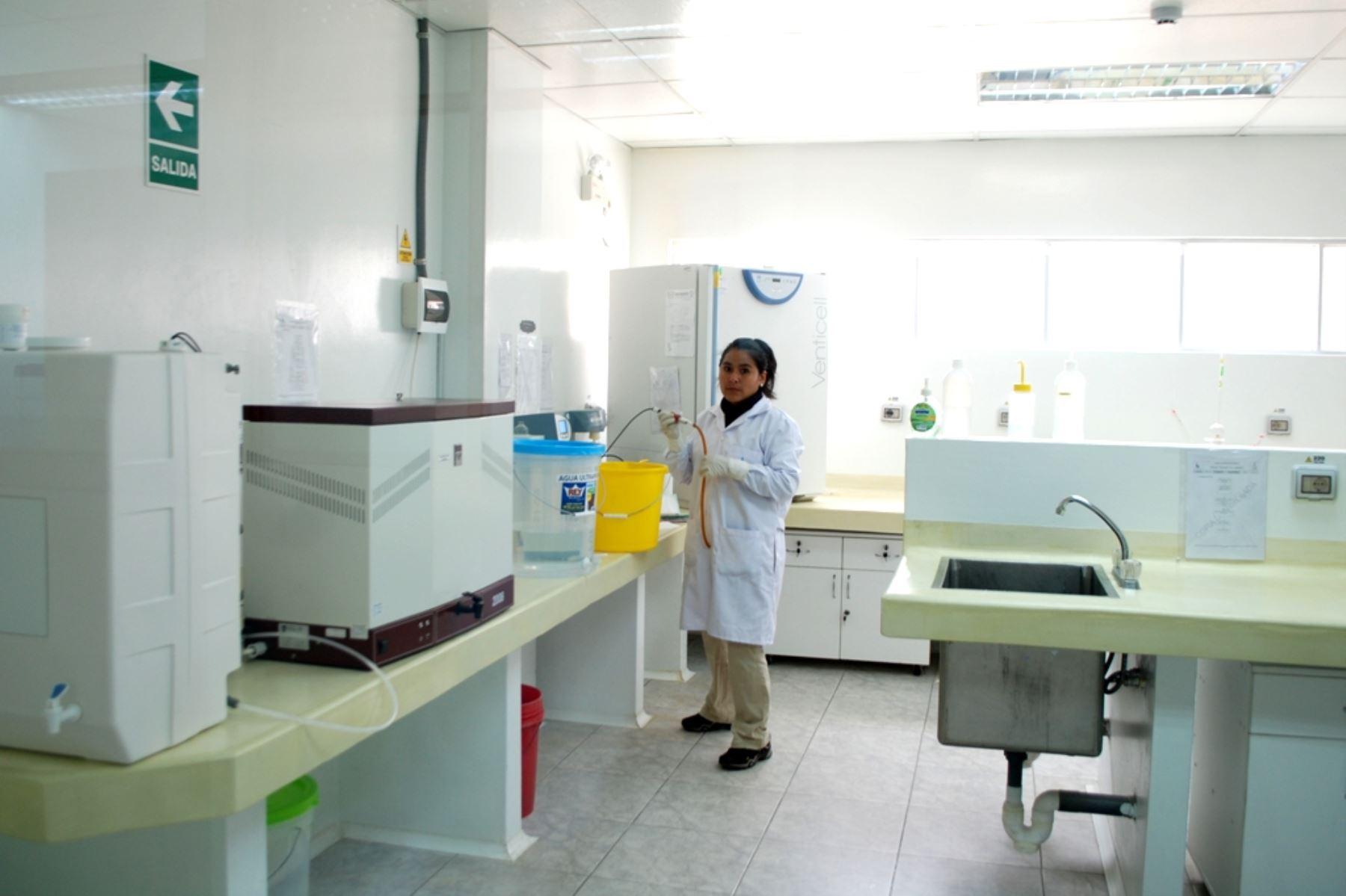 Cajamarca pone en funcionamiento laboratorio regional del agua
