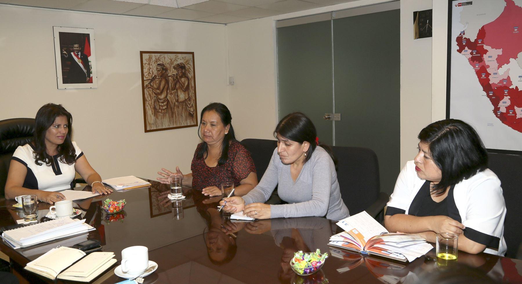 Ministra omonte se reuni con dirigentes de sindicatos de for Formulario trabajadores del hogar