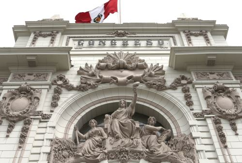 LIMA,PERÚ-ENERO 20.Fachada Congreso del Congreso de la República del Perú.Foto: ANDINA/Oscar Farje Gomero.