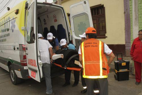 Simulacro de tsunami en el Callao. Foto: Andina/Difusión