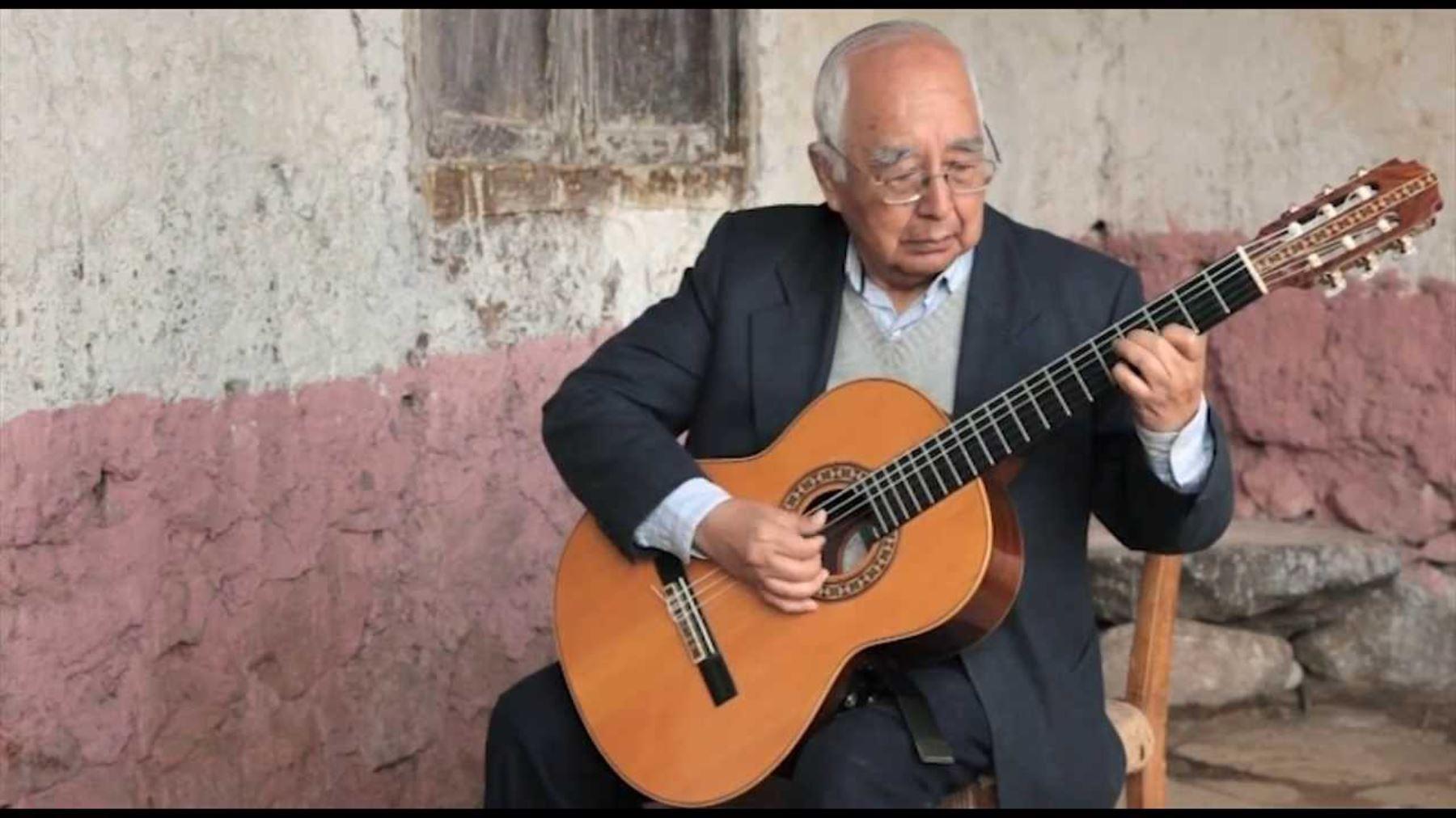 Falleció guitarrista del tema 'Adiós pueblo de Ayacucho — Raúl García Zarate
