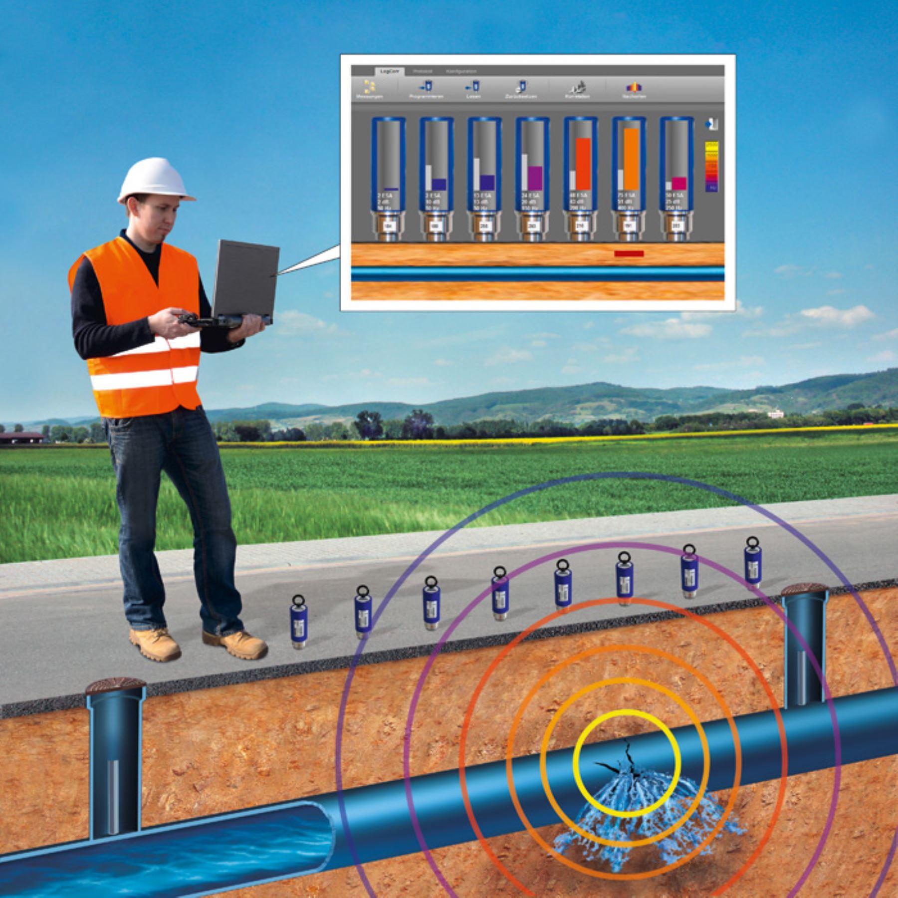 Con modernos equipos sedapal detecta fugas no visibles en for Fugas de agua madrid