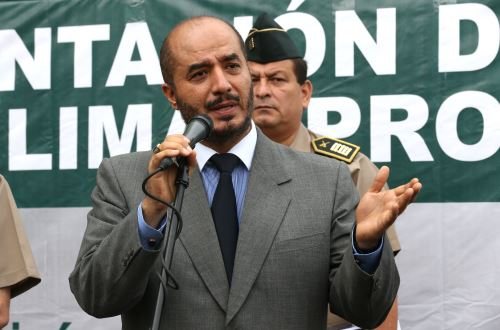 Ministro del Interior, José Luis Pérez Guadalupe. Foto: ANDINA/Norman Córdova