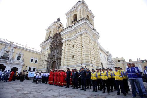Plan conjunto de seguridad por Semana Santa se aplicará en Lima. Foto: Andina/Difusión