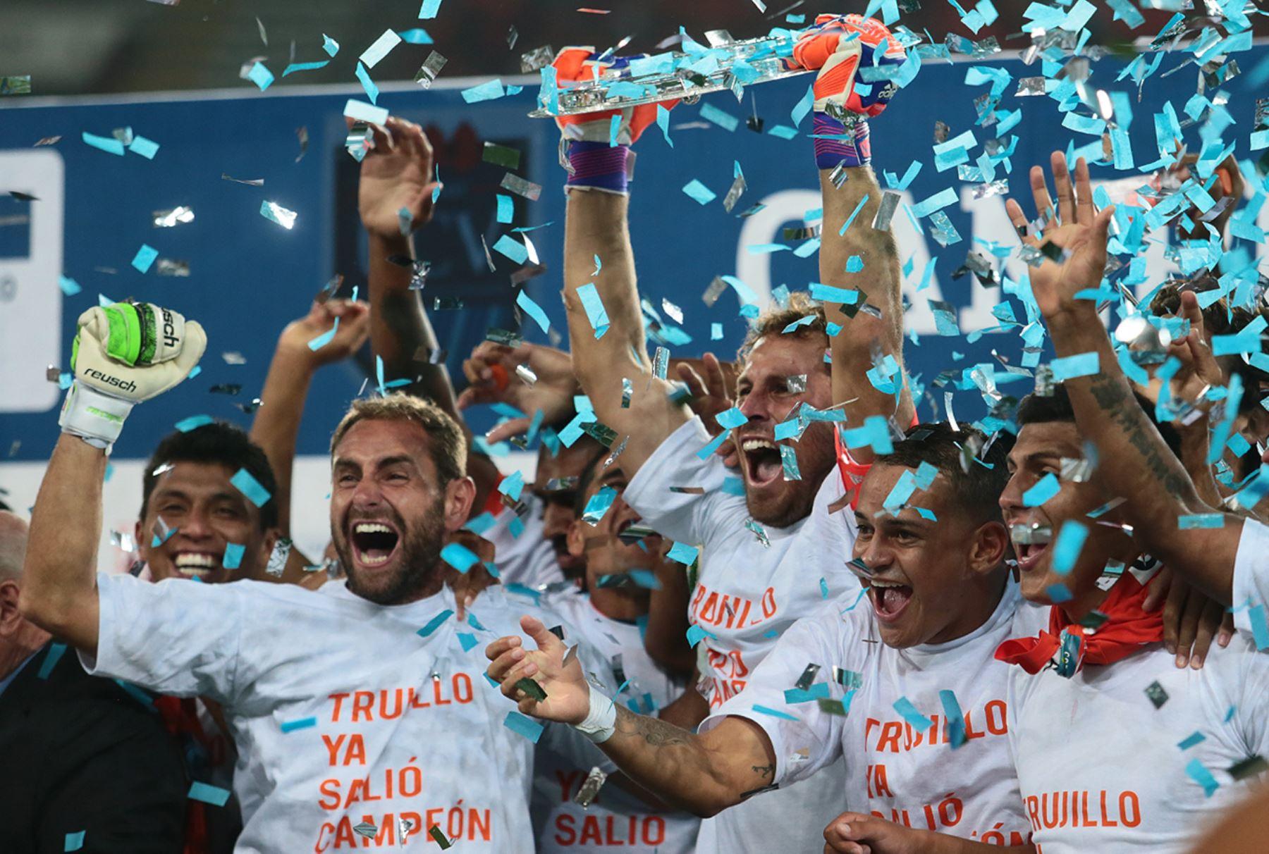 LIMA PERÚ, ABRIL 26.César Vallejo se coronó campeón del Torneo Inca al derrotar 3-1 a Alianza Lima.Foto: ANDINA/Carlos Lezama
