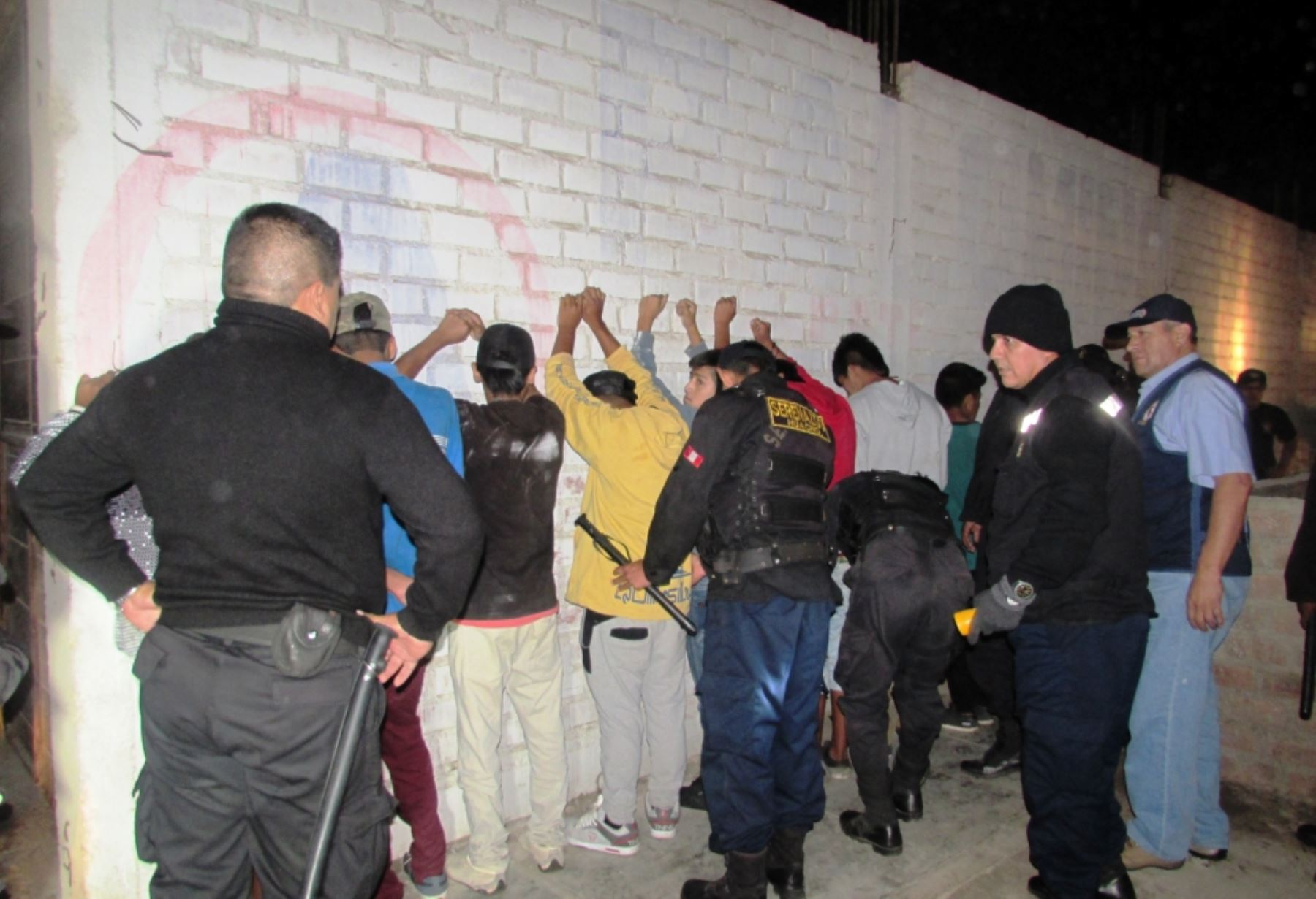 Megaoperativos el 90 de los detenidos termina con for Portal del ministerio del interior