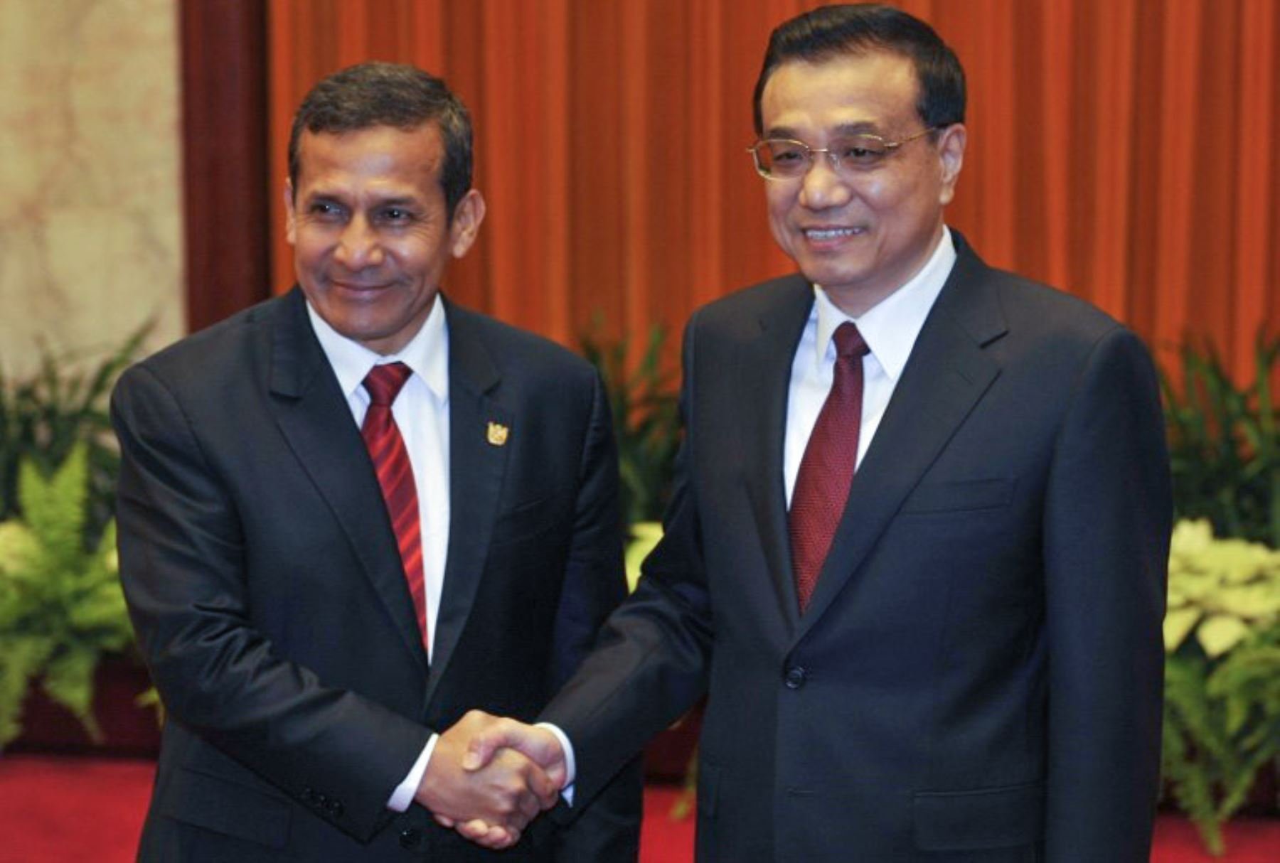Jefe del Estado, Ollanta Humala, se reunirá en Lima con primer ministro de China, Li Keqiang. Foto: AFP