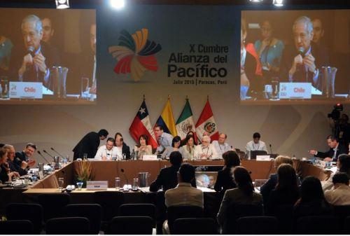 Consejo de Ministros de la Alianza del Pacífico.